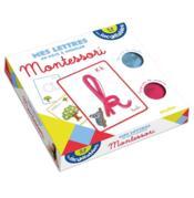 Les incollables ; mes lettres en pâte à modeler Montessori - Couverture - Format classique