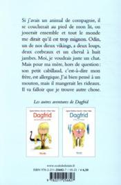 Dagfrid et compagnie - 4ème de couverture - Format classique