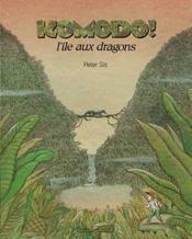 Komodo, l'île aux dragons - Couverture - Format classique