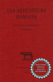 Les arpenteurs romains - Intérieur - Format classique