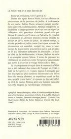 Sator ; l'énigme du carré magique - 4ème de couverture - Format classique