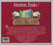 Brunel t.11 ; attention études - 4ème de couverture - Format classique