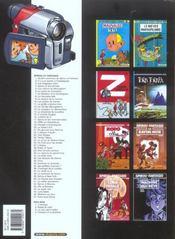 Les aventures de Spirou et Fantasio T.47 ; Paris-sous-Seine - 4ème de couverture - Format classique