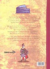 Rome et son empire - 4ème de couverture - Format classique