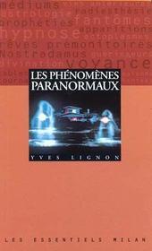 Phenomenes Paranormaux (Les) - Intérieur - Format classique
