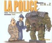 La police illustrée de A à Z - Couverture - Format classique