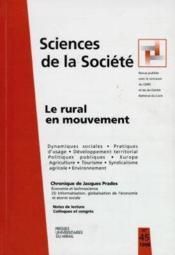 Le Rural En Mouvement Mutations Economiques Et Sociales Politiques Publiques Develeppement Amenageme - Couverture - Format classique