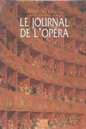 Le journal de l'opera - Couverture - Format classique