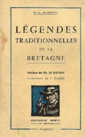 Légendes traditionnelles de la Bretagne - Couverture - Format classique