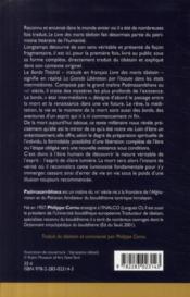 Le livre des morts tibétain - 4ème de couverture - Format classique