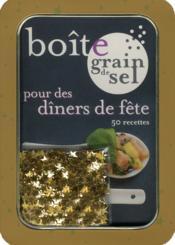 Boîte pour des dîners de fête - Couverture - Format classique