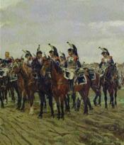 Les cuirassiers et les carabiniers sous la Révolution et l'Empire - Couverture - Format classique