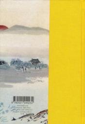 La Fontaine ; fables choisies - 4ème de couverture - Format classique
