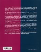 Comptabilité générale ; de l'obligation légale à l'outil de gestion ; grandes écoles, université, professionnels - 4ème de couverture - Format classique