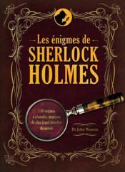 Les énigmes de Sherlock Holmes - Couverture - Format classique