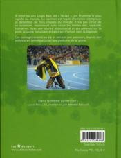 Usain Bolt ; l'éclair - 4ème de couverture - Format classique