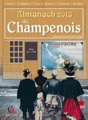 Almanach Du Champenois 2013 - Couverture - Format classique
