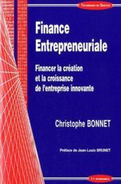Finance entrepreneuriale - Couverture - Format classique