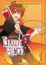 Bloody prince t.2 - Couverture - Format classique