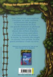 Les carnets de la cabane magique T.14 ; la vie au Pôle Nord - 4ème de couverture - Format classique