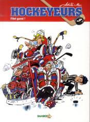 Les hockeyeurs t.3 ; filet garni - Couverture - Format classique