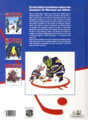 Les hockeyeurs t.3 ; filet garni - 4ème de couverture - Format classique