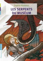 Les serpents du muséum - Couverture - Format classique