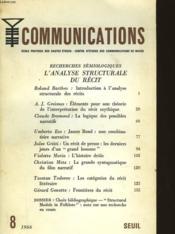 Communication Recherches Semiologiques - Couverture - Format classique