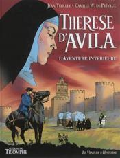 Therese d'avila - l'aventure interieure - Couverture - Format classique