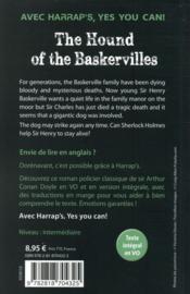 The hound of the Baskervilles - 4ème de couverture - Format classique