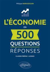 L economie en 500 questions-reponses - Couverture - Format classique