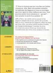 Virus L.I.V. 3 ou la mort des livres - 4ème de couverture - Format classique