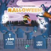 Halloween ; je cherche et trouve avec ma lampe magique - Couverture - Format classique