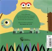 Les animaux en couleurs - 4ème de couverture - Format classique