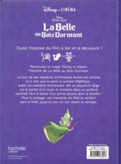 Disney cinéma ; la Belle au Bois Dormant - 4ème de couverture - Format classique