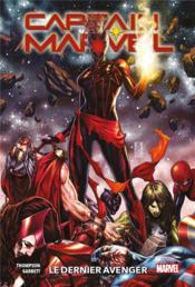 Captain Marvel T.3 ; le dernier avenger - Couverture - Format classique