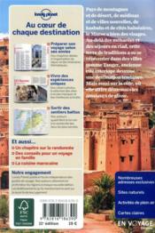 Maroc (11e édition) - 4ème de couverture - Format classique