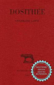 Grammaire latine - Couverture - Format classique