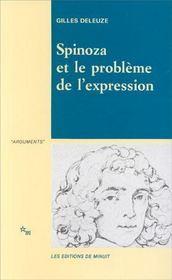 Spinoza Et Le Probleme De L Expression - Intérieur - Format classique