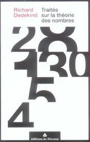 Traites Sur La Theorie Des Nombres - Intérieur - Format classique