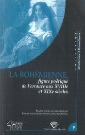 La bohémienne, figure poétique de l'errance aux xviii et xix siècles - Intérieur - Format classique