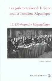 Parlementaires de la seine sous la iiie republique - Intérieur - Format classique