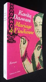 Mariage a l'indienne - Couverture - Format classique