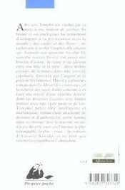 Le miroir des courtisanes - 4ème de couverture - Format classique