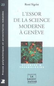 L'Essor De La Science Moderne A Geneve. Science Et Technologie - Intérieur - Format classique