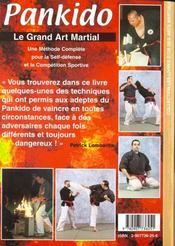 Pankido t.1 - 4ème de couverture - Format classique