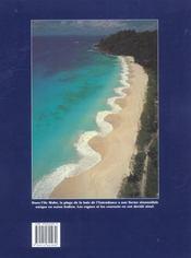 Seychelles ; a vol d'oiseau - 4ème de couverture - Format classique