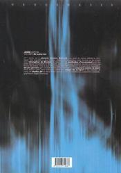 John sorrow t.2 ; de salvo bis - 4ème de couverture - Format classique