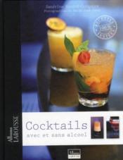 Cocktails avec et sans alcool - Couverture - Format classique