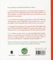 ASTUCES DECO POUR CHANGER DE LA CERISE SUR LE GÂTEAU. Petit manuel d'initiation au design culinaire - 4ème de couverture - Format classique